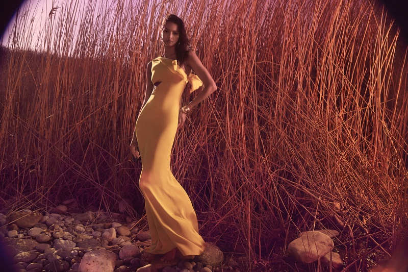 Cushnie et Ochs taps Lais Ribeiro for its pre-fall 2018 campaign