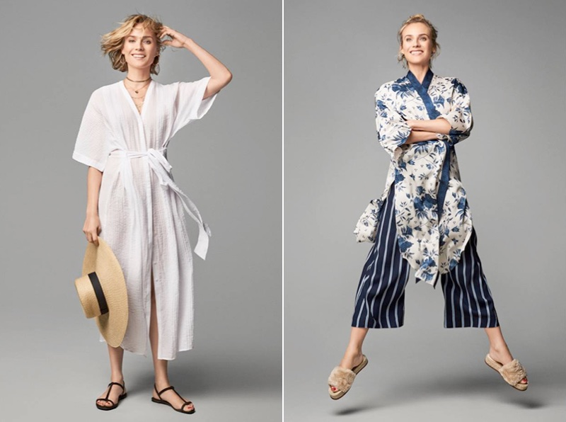 Diane Kruger stars in H&M shoot