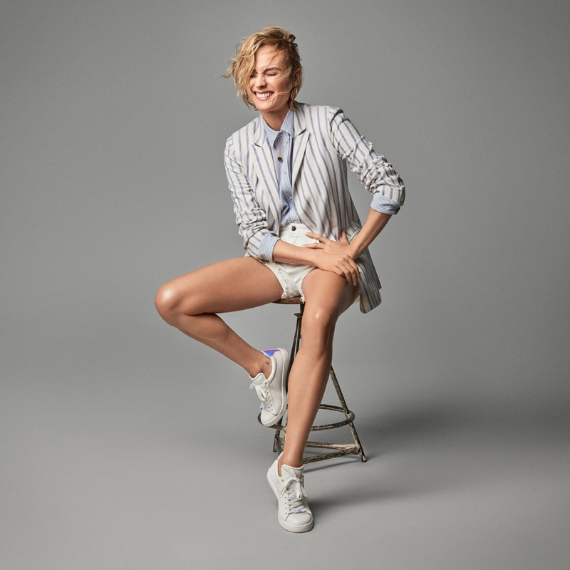 Actress Diane Kruger selects her summer favorites from H&M