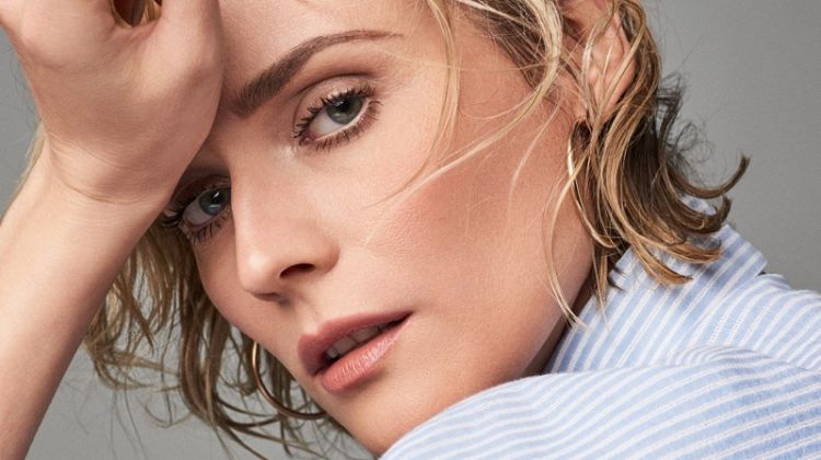 Diane Kruger Brings Her Signature Style to H&M Shoot