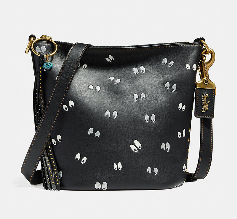 Disney x Coach Duffle 20 with Spooky Eyes Print $395