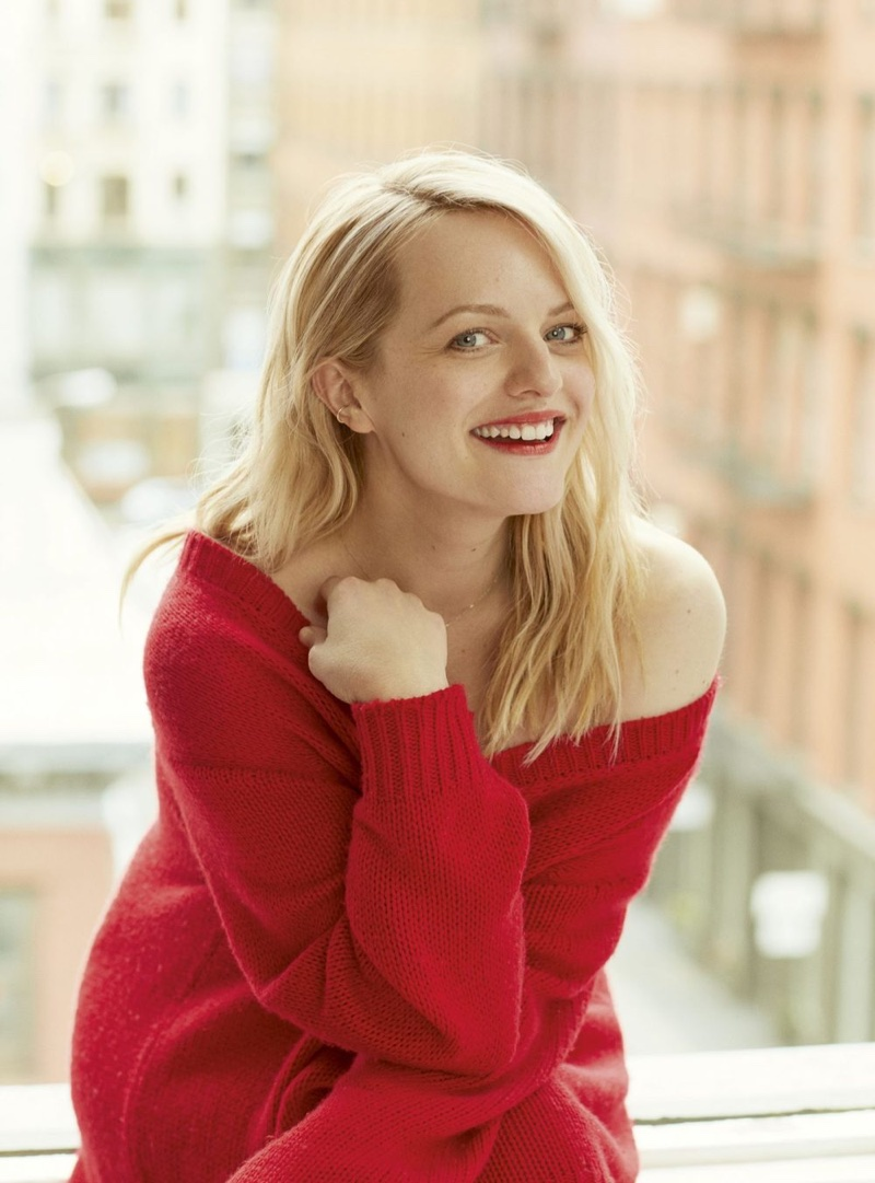 Elisabeth Moss | Marie Claire UK | 2018 Cover Photoshoot