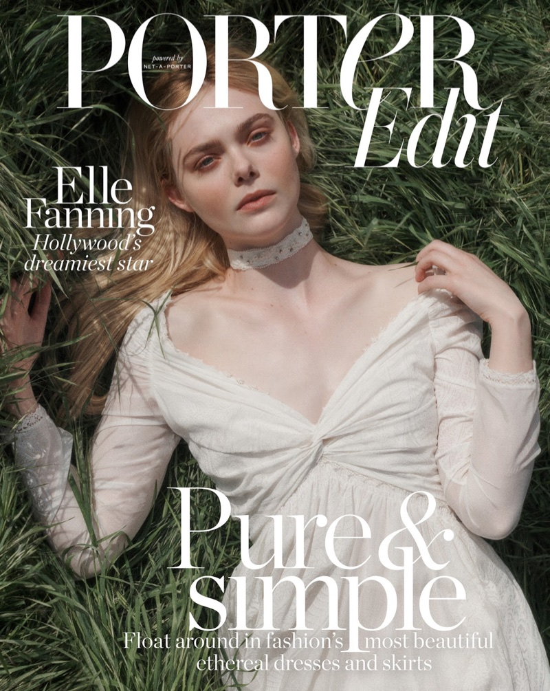 Elle Fanning on PORTER Edit May 4, 2018 Cover