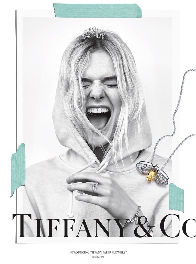 Elle Fanning stars in Tiffany & Co. Believe in Dreams campaign
