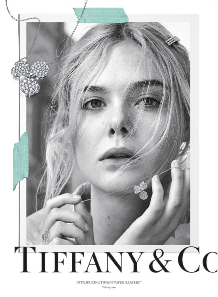 Ready for her closeup, Elle Fanning fronts Tiffany & Co. Believe in Dreams campaign