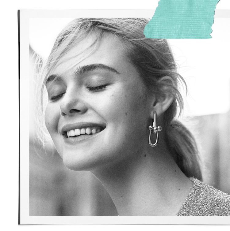 Actress Elle Fanning appears in Tiffany & Co. Believe in Dreams campaign