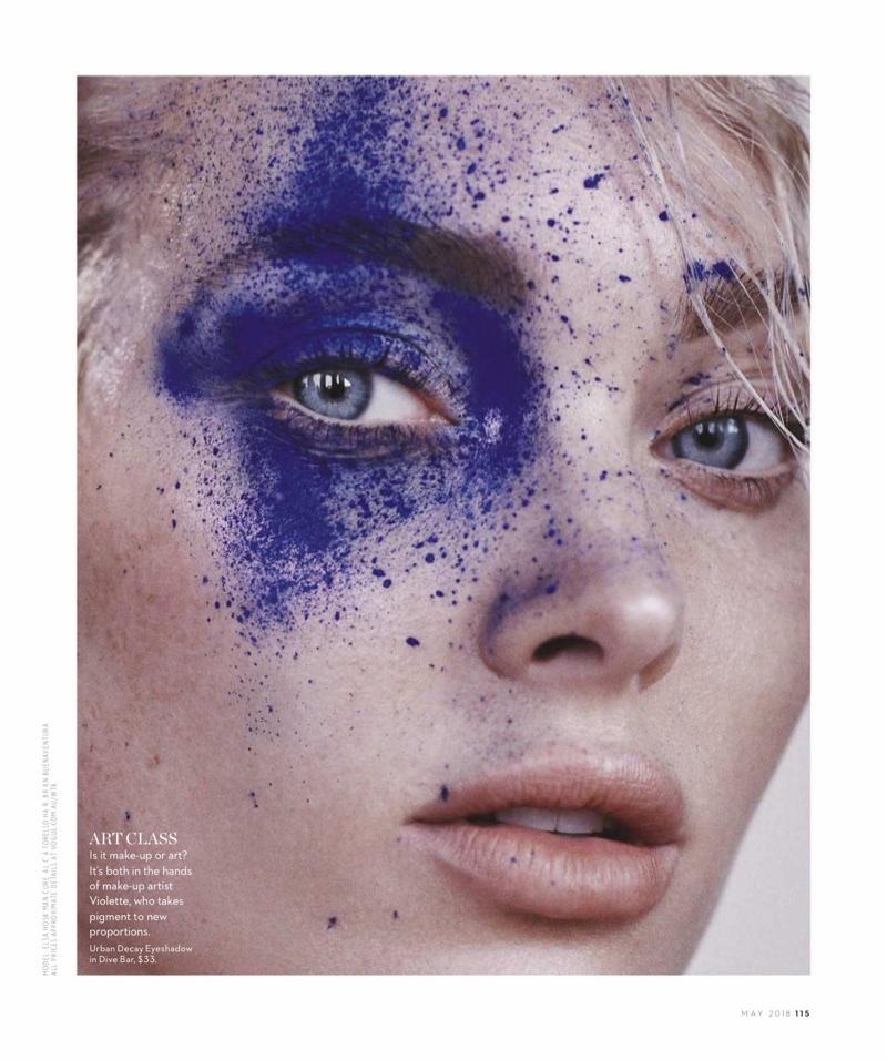 Elsa Hosk Vogue Australia Bold
