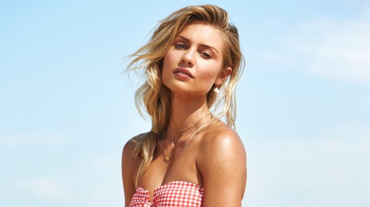 Elyse Knowles Hits the Beach for Seafolly's Swim Campaign