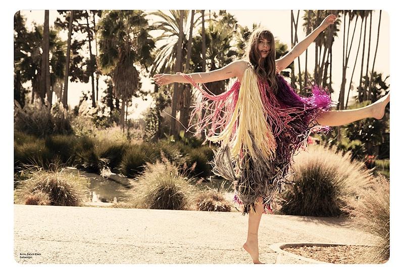 Emily Labowe Embraces Bohemian Styles for Grazia France