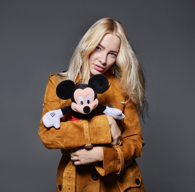 Fae Williams for Mickey Mouse & Me. Photo: Rankin