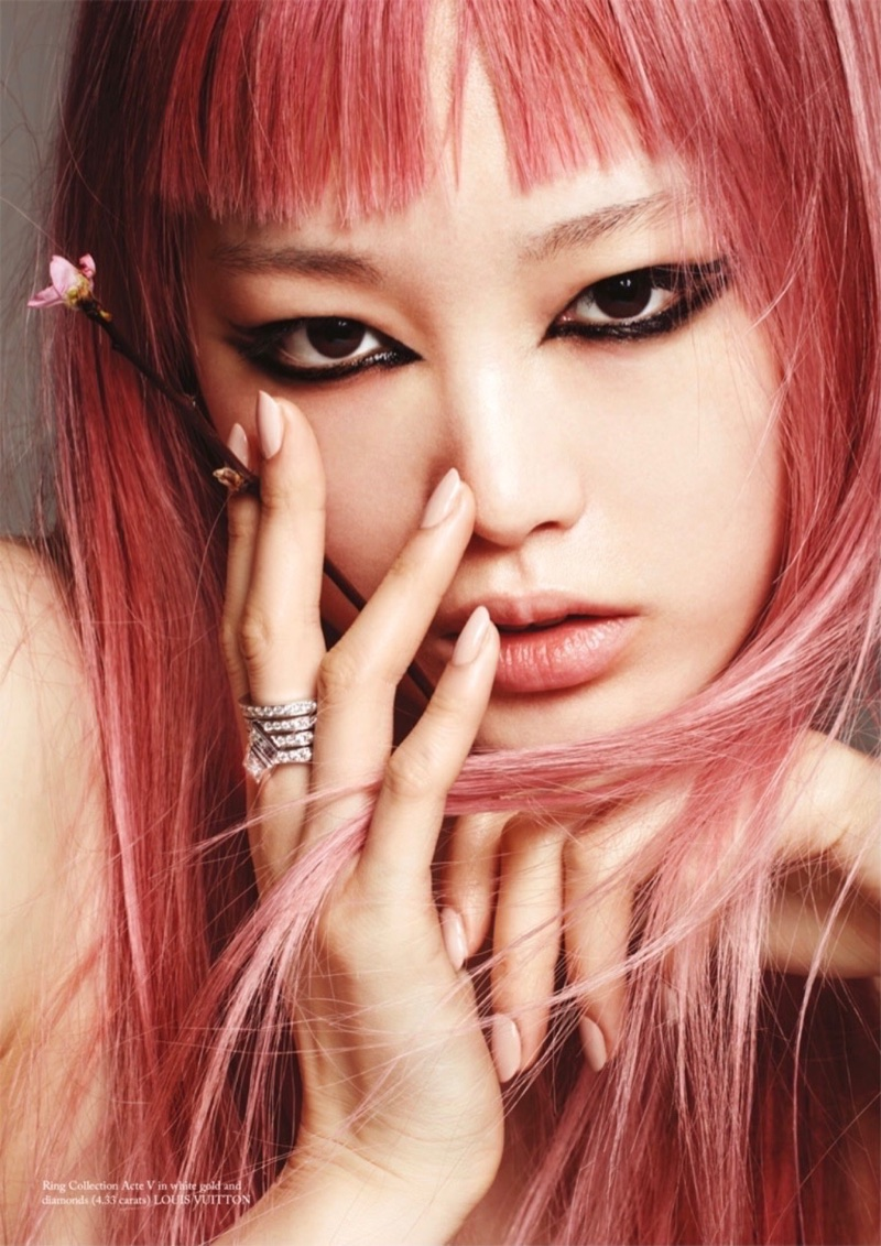 Fernanda Ly Embraces Eclectic Styles for Glass Magazine