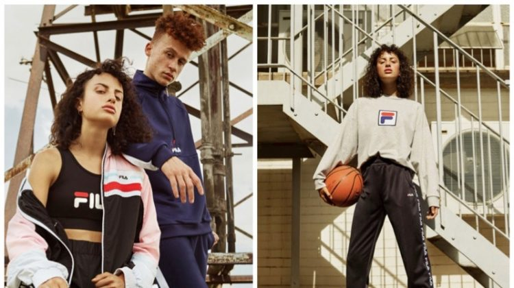 FILA x Urban Outfitters 2018 clothing