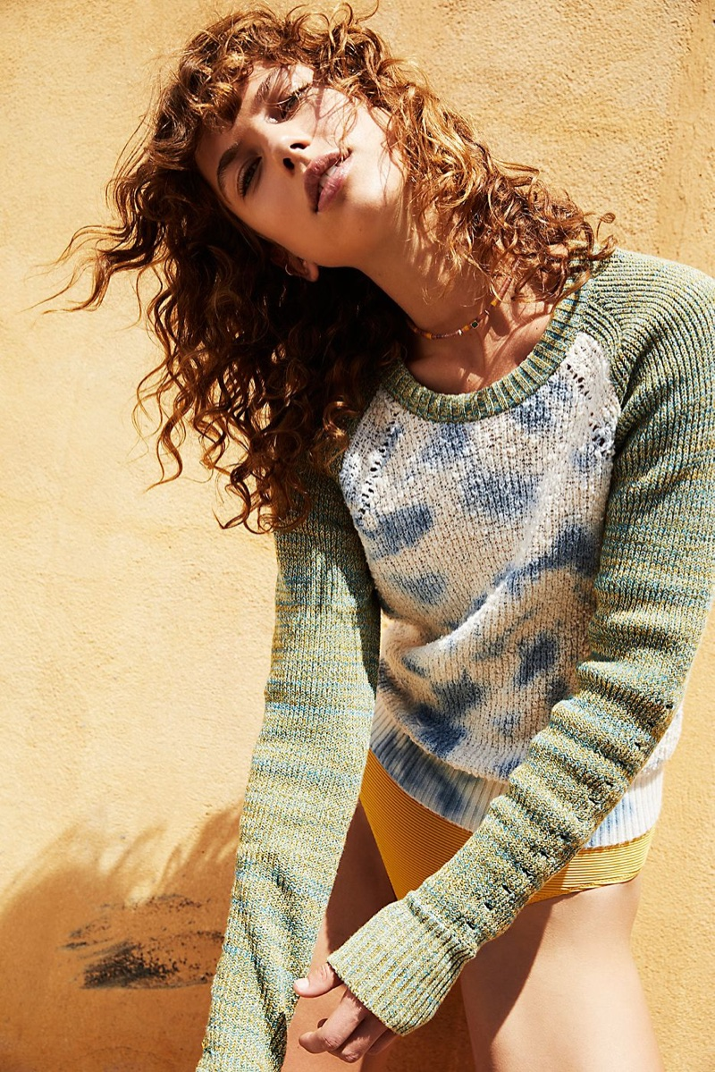 Free People Dewdrop Pullover Sweater