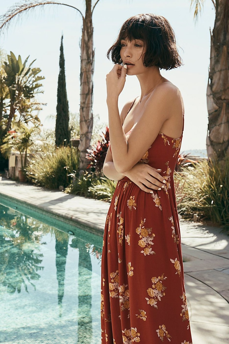 Free People What Is Love Jumpsuit