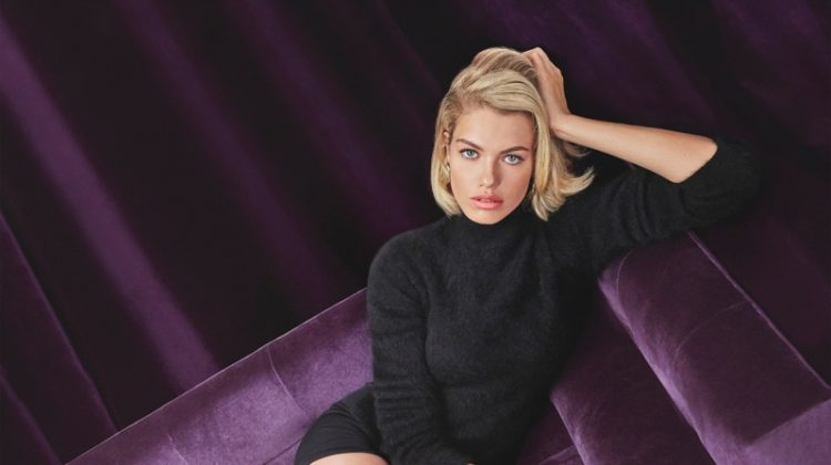 Hailey Clauson stars in Giuseppe Zanotti's fall-winter 2018 campaign