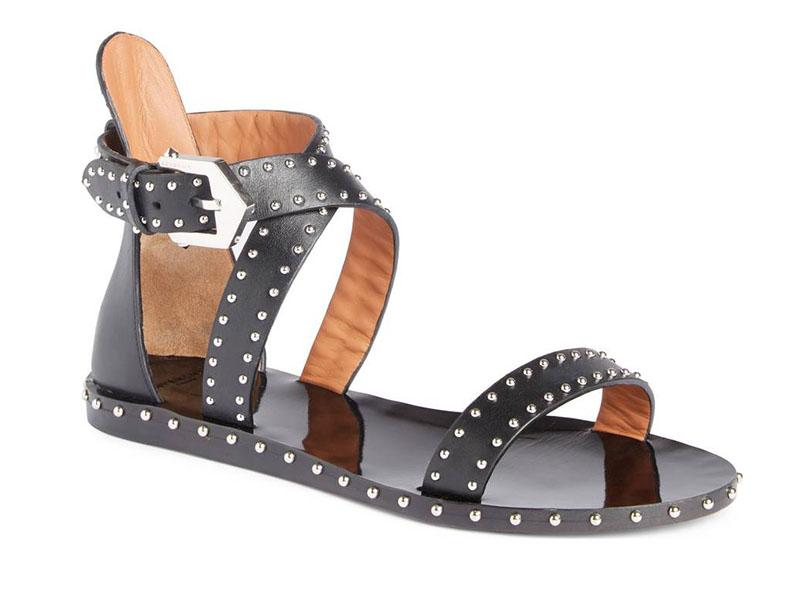 Givenchy Elegant Strappy Studded Sandal $509.98 (previously $850)