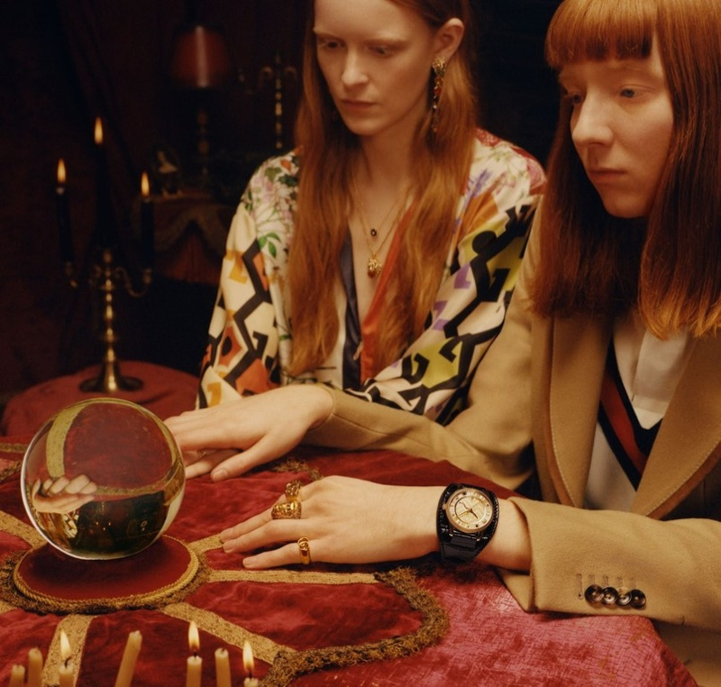 Colin Dodgson photographs Gucci's 2018 Timepieces + Jewelry 2018 campaign