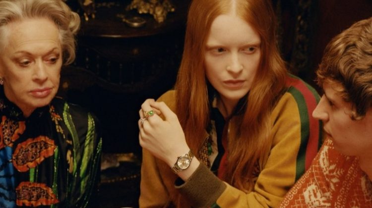 Tippi Hendren Plays a Fortune Teller for Gucci Jewelry Campaign