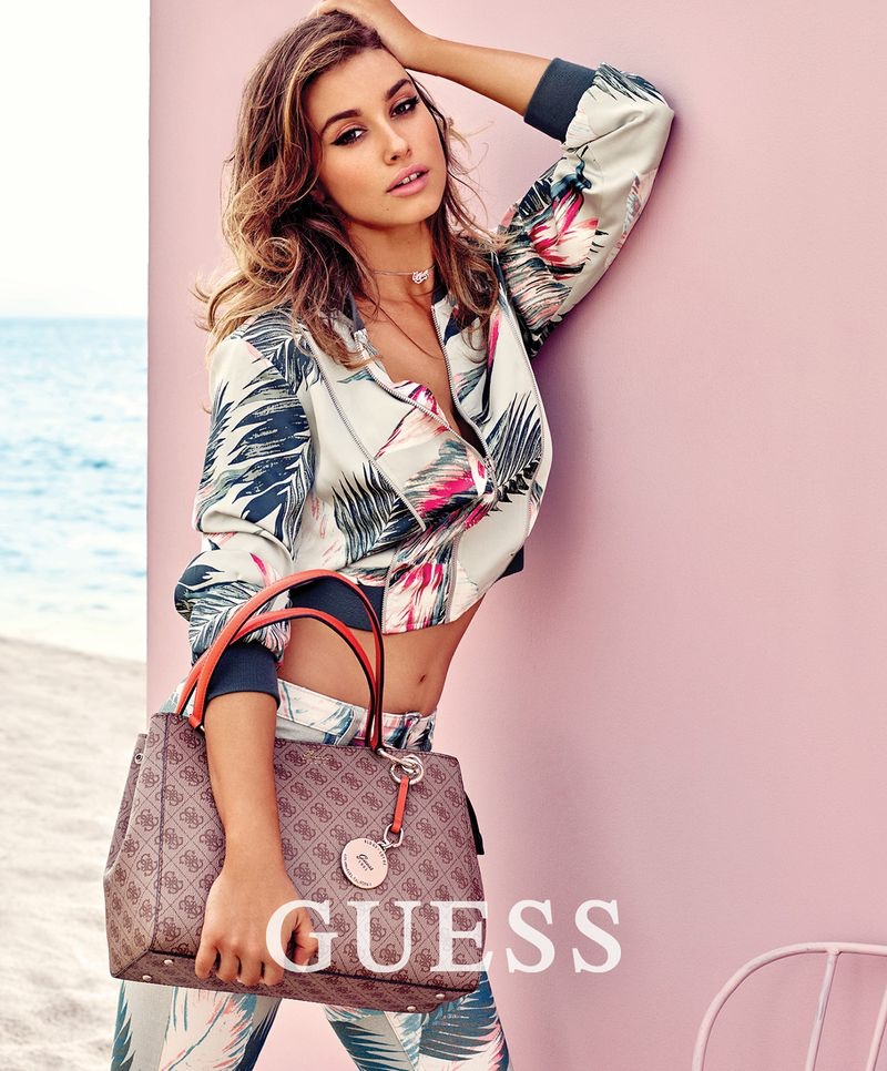 Gabriela Giovanardi stars in Guess Accessories spring-summer 2018 campaign