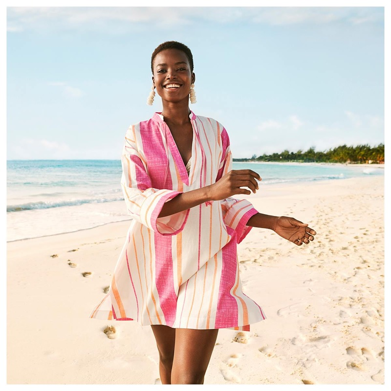 Maria Borges is all smiles in H&M's summer 2018 campaign
