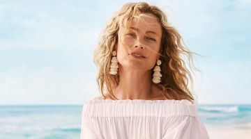 Carolyn Murphy & Maria Borges Chase the Sun for H&M's Summer 2018 Campaign