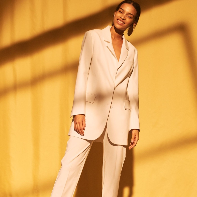 H&M Oversized Blazer and Suit Pants
