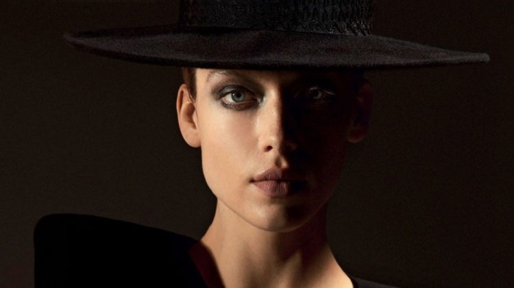 Hannah Ferguson Channels Femme Fatale Style for Vogue Arabia