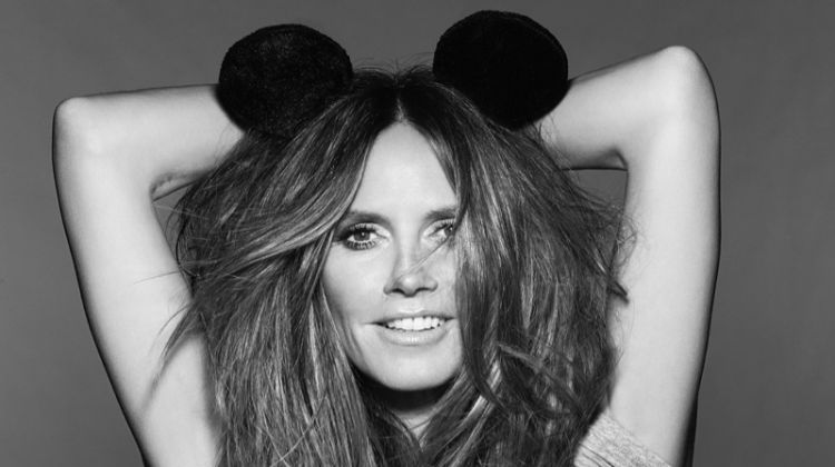 Heidi Klum fronts Mickey Mouse and Me campaign. Photo: Rankin