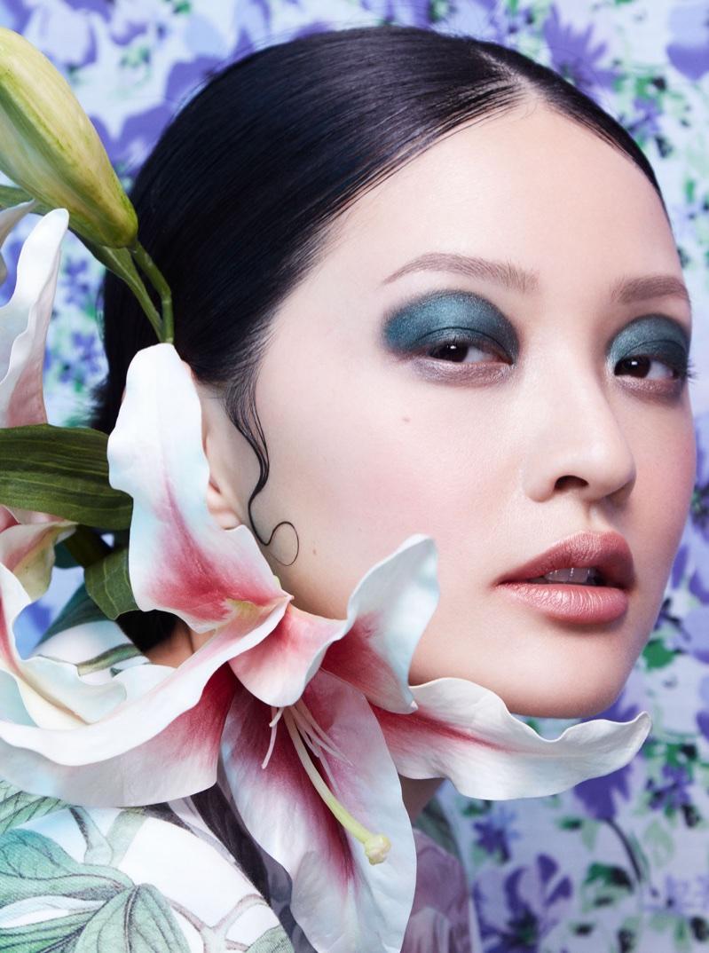 Hilda Lee is In Full Bloom for Harper's Bazaar Thailand