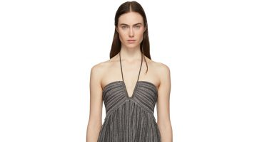 Isabel Marant Silver Babs Dress $360 (previously $1,200)