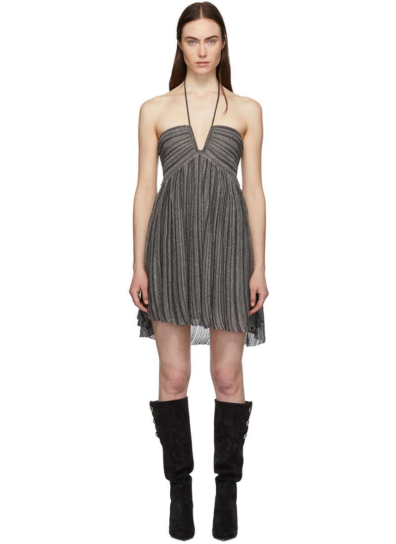 Isabel Marant Silver Babs Dress $360 (previously $1,200)
