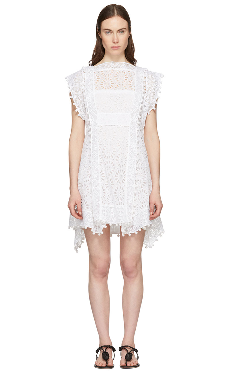 Isabel Marant Kunst Broderie Anglaise Short Dress $779 (previously $1180)