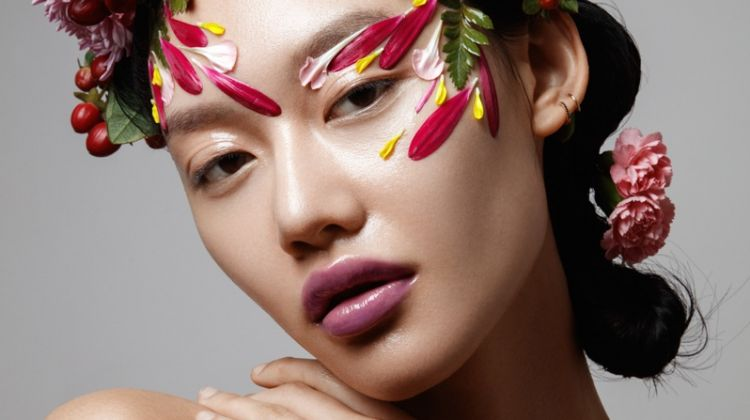 Exclusive: Jessie Li by Jeff Tse in 'Flower Power'