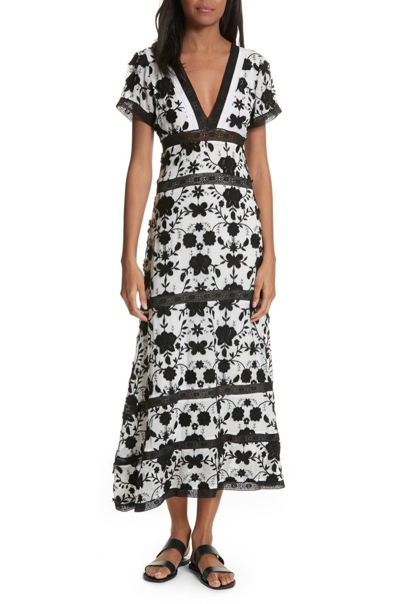 Joie Fusca Floral Print Maxi Dress $298.80 (previously $498)