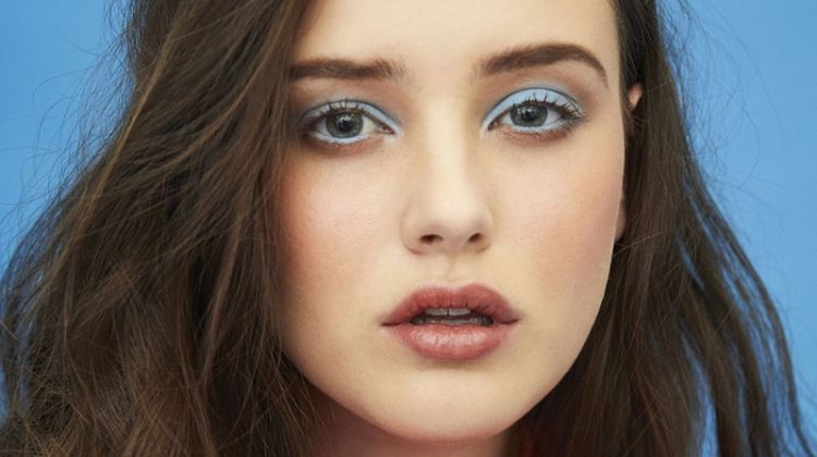 Ready for her closeup, Katherine Langford wears Valentino dress