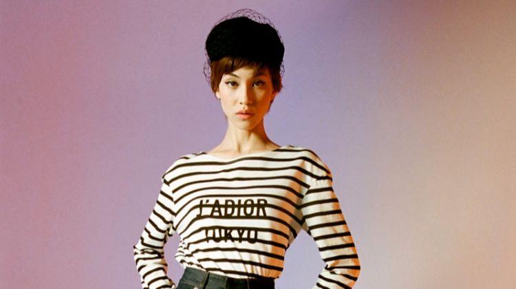 Kiko Mizuhara Looks 60's Chic in Dior's Tokyo Capsule