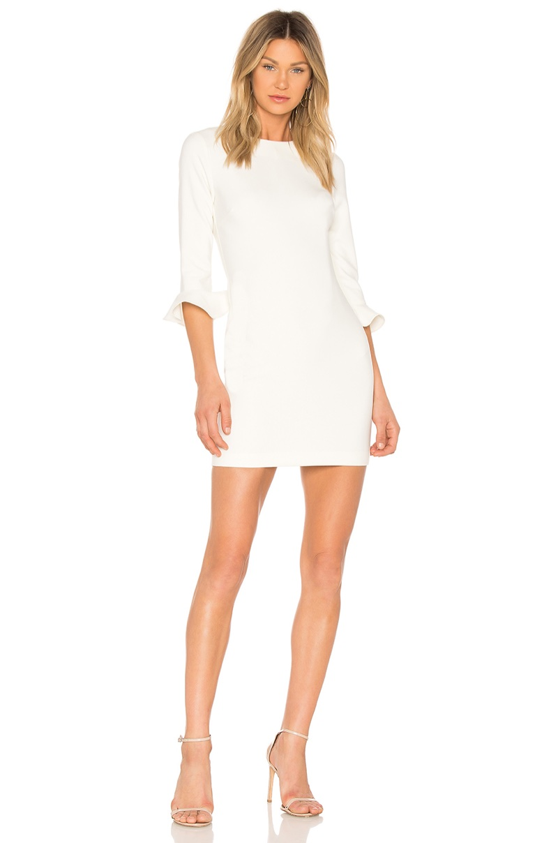 Likely Bedford Dress in White $178