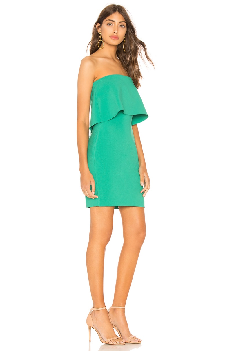 Likely x REVOLVE Mini Driggs Dress in Greenlake $168