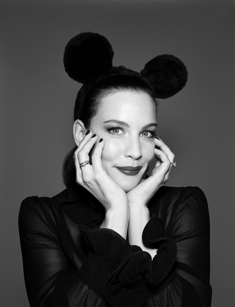 Liv Tyler appears in Mickey Mouse & Me book. Photo: Rankin