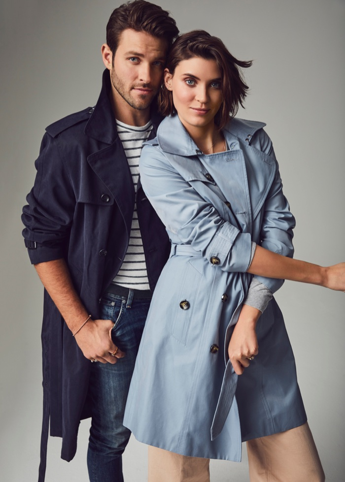 London Fog taps Alison Nix and Chad Masters for spring-summer 2018 campaign