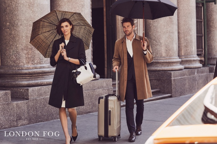 London Fog unveils spring-summer 2018 campaign