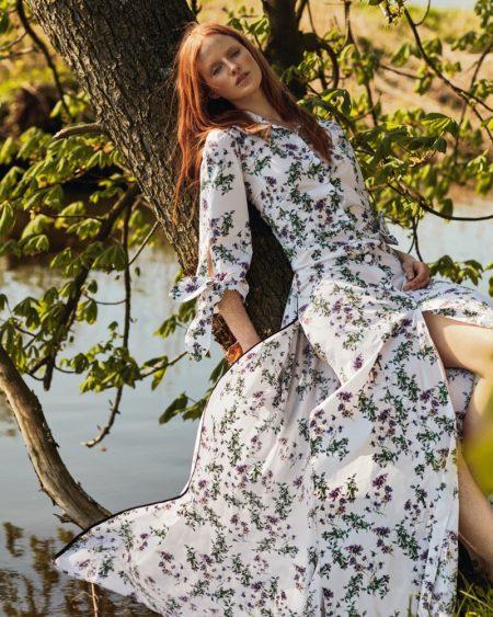 Magdalena Jasek is a Natural Beauty in Harper's Bazaar Poland