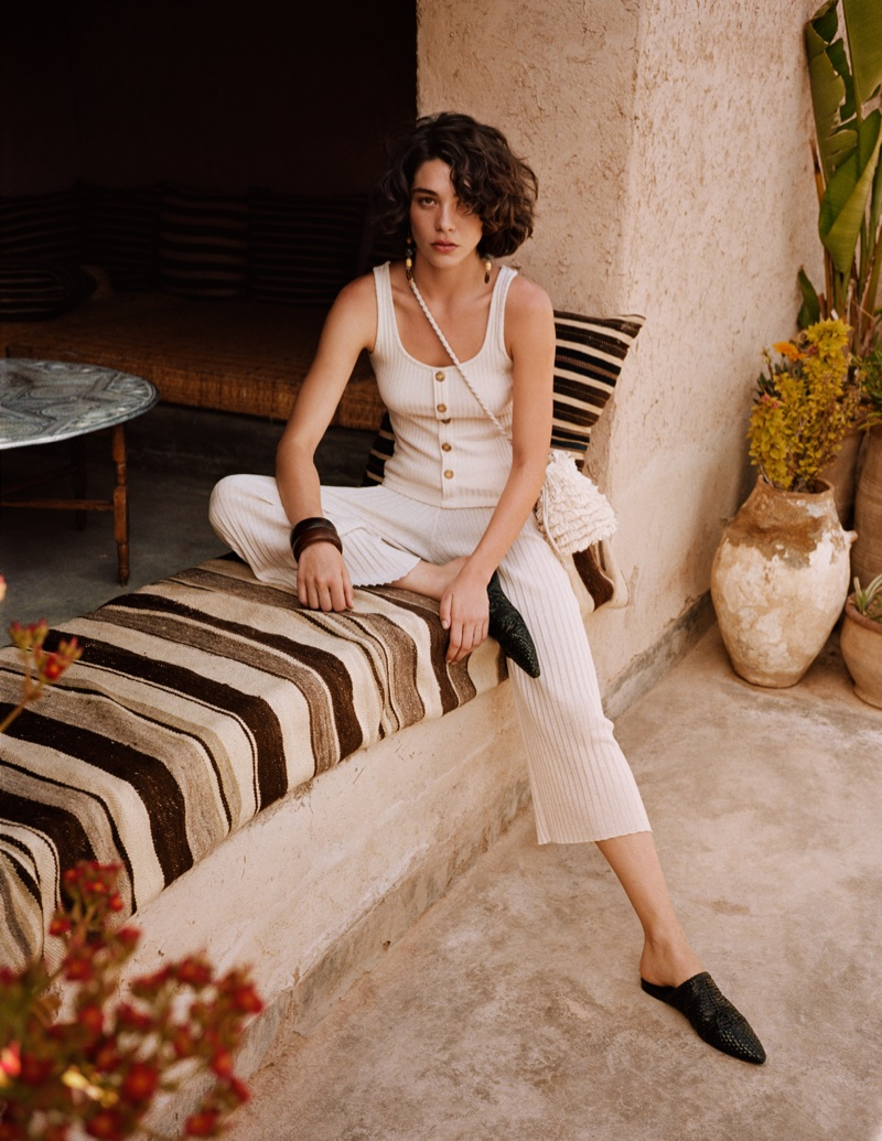 Mango heads to Marrakech for Summer Diaries spring-summer 2018 lookbook