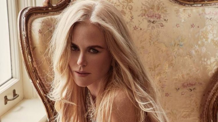 Shining in crystals, Nicole Kidman wears Dundas Atelier minidress