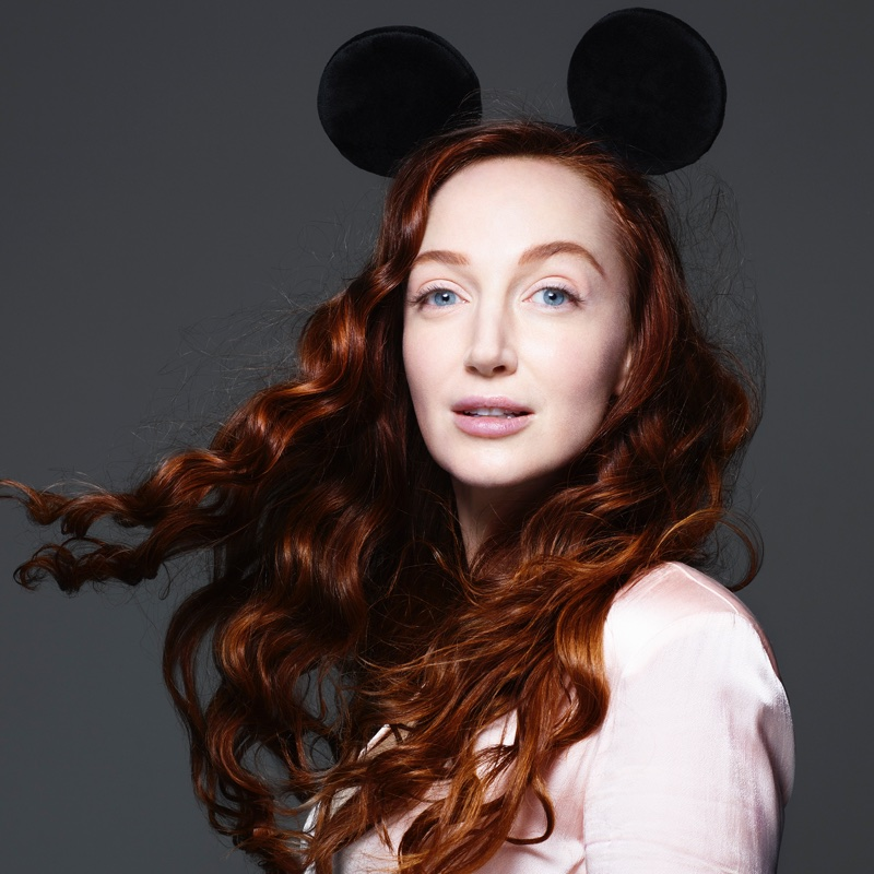 Olivia Grant appears in Mickey Mouse & Me book. Photo: Rankin