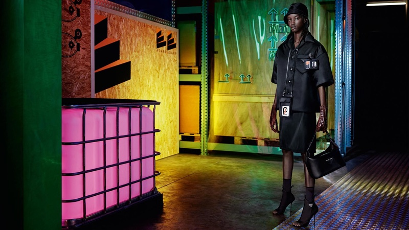 An image from Prada 365 pre-fall 2018 advertising campaign