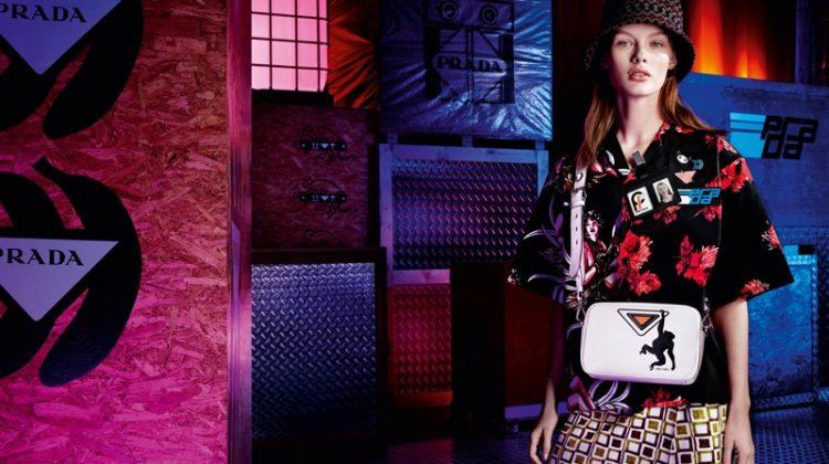 Prada Sets Pre-Fall 2018 Campaign in a Warehouse