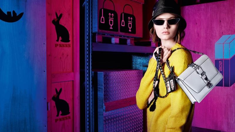 Prada focuses on vibrant looks for 365 pre-fall 2018 campaign