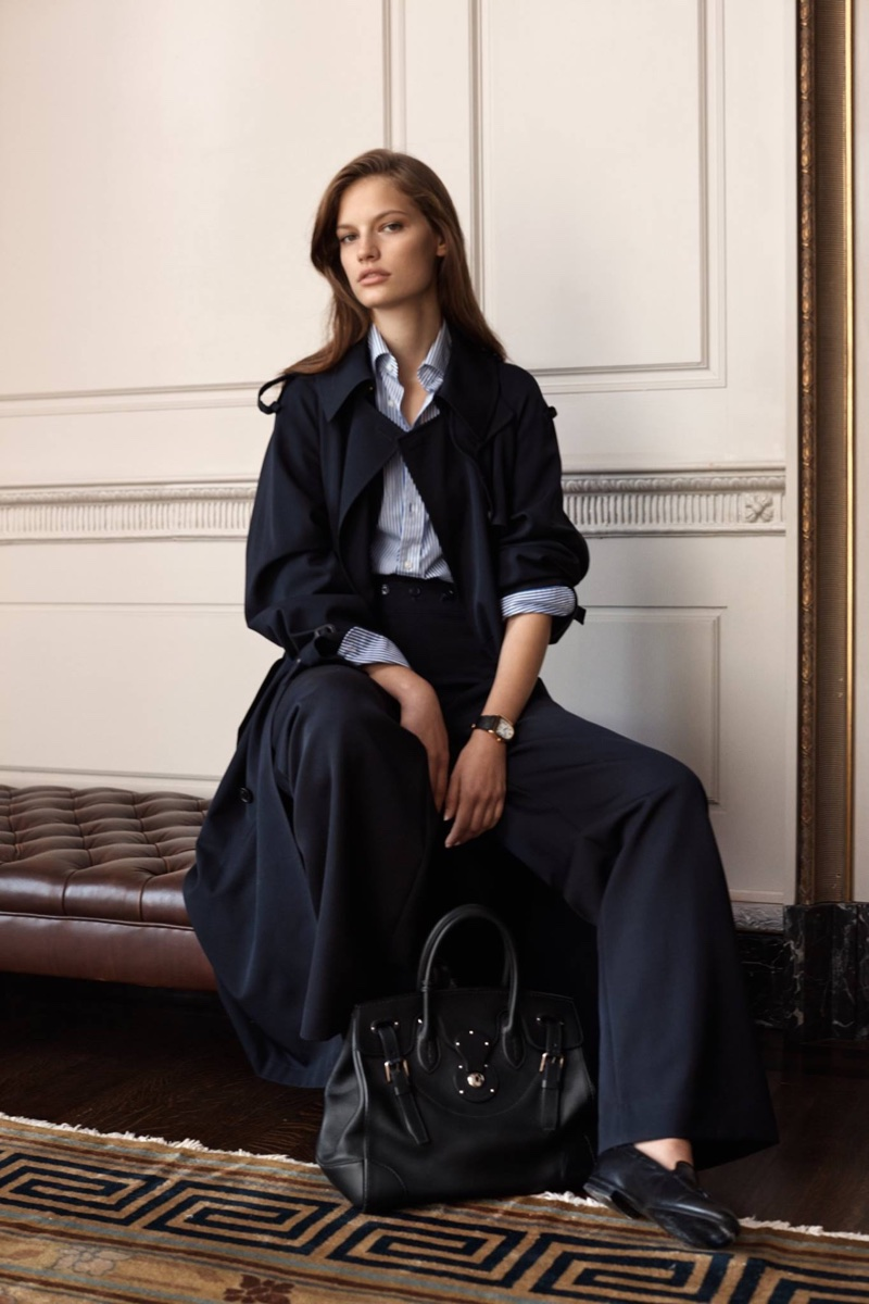 A look from Ralph Lauren's Iconic Style collection