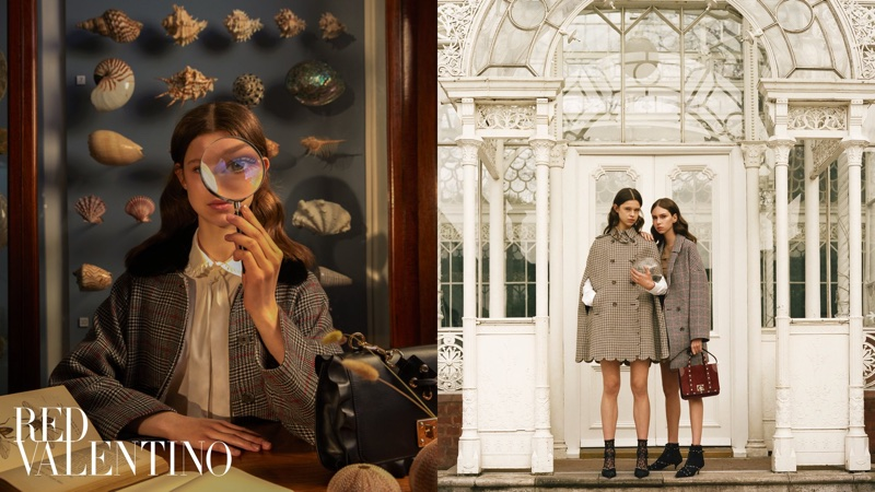 RED Valentino sets its pre-fall 2018 campaign at The Horniman Museum and Gardens